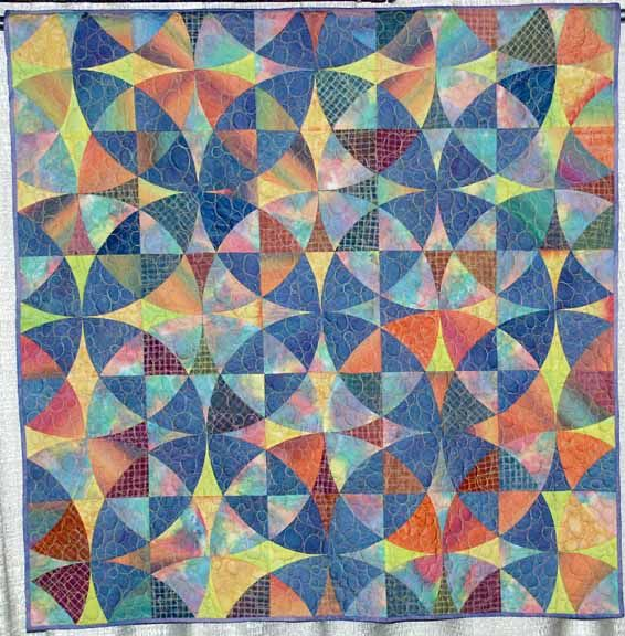 Wheel of Mystery. I think this is the pattern (not the actual quilt ...