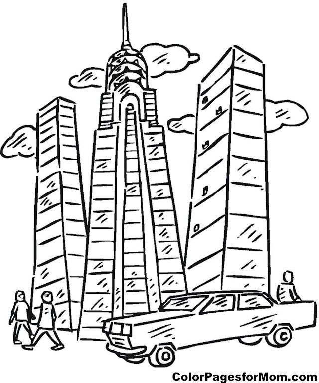 Skyscraper Coloring Sheets Yahoo Image Search Results Coloring Sheets Sheets Color