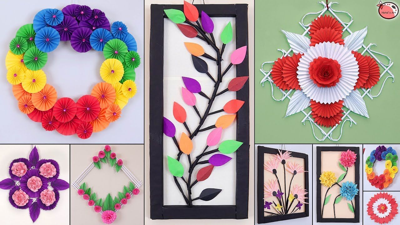 10 Genius Paper Craft Idea Diy Room Decor Wall Hanging