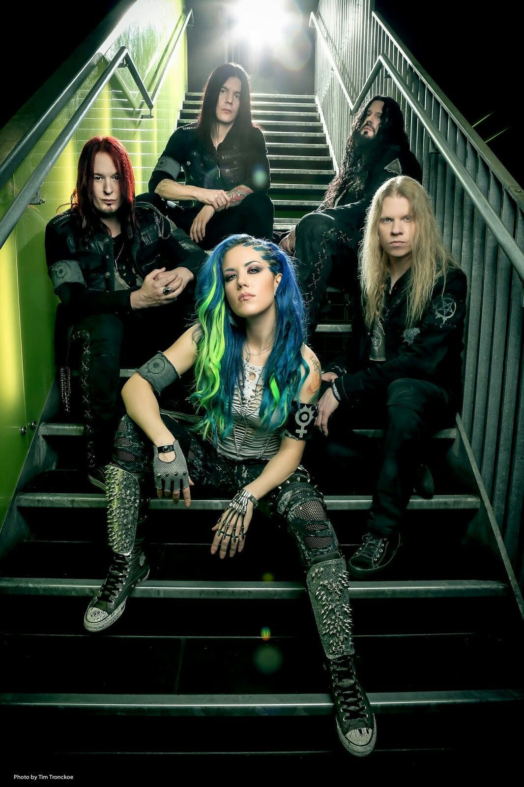 Arch Enemy Alissa White Gluz Wallpaper Death Metal Band Photography
