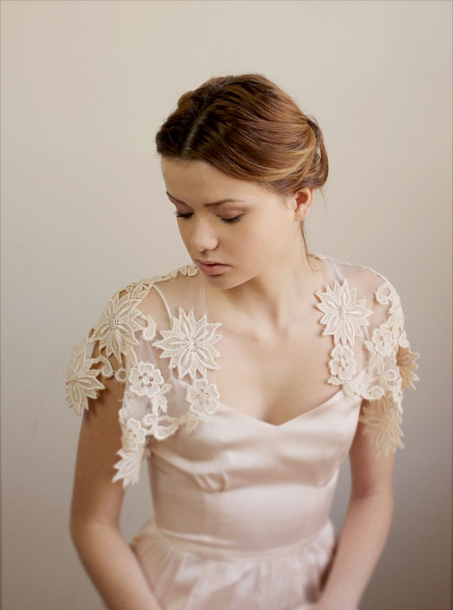 Jesse One Of A Kind Lace And Tulle Bolero Bridal Outfits