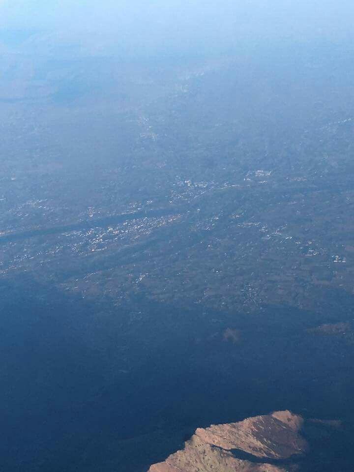 Cuneo dall'alto