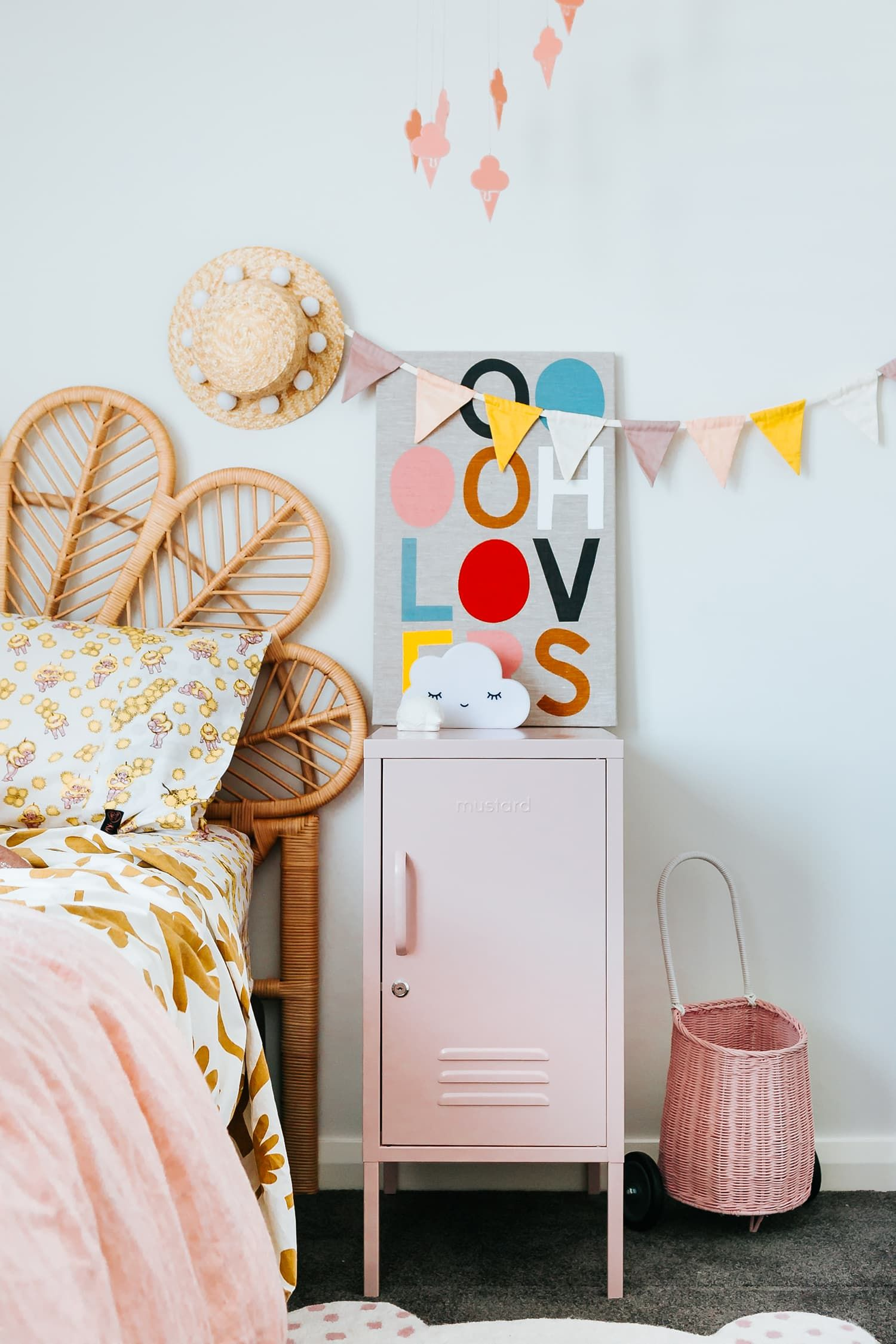 coloured lockers are the next big interiors trend kids spaces rh pinterest com