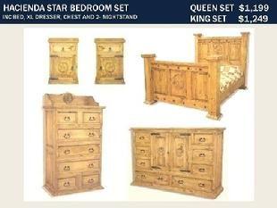 Rustic Furniture Depot Rustic Furniture Depot Star Hacienda Bedroom Set