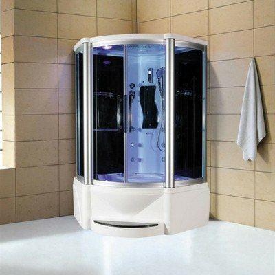 Eagle Bath WS-609P Steam Shower w/ Whirlpool Bathtub Combo Unit ...