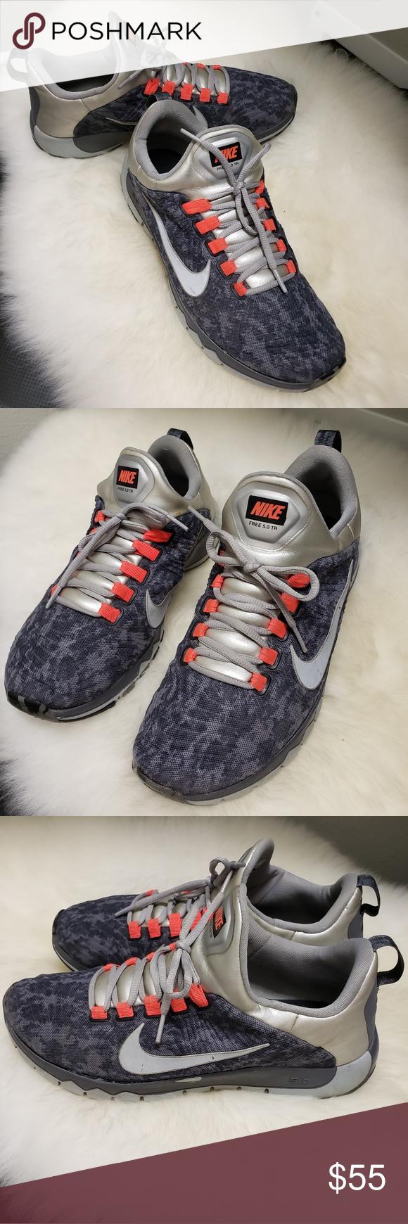 Nike Free 5 0 Trainer Mens Tennis Shoes Sz 11 Mens Tennis Shoes Nike Free Tennis Shoes