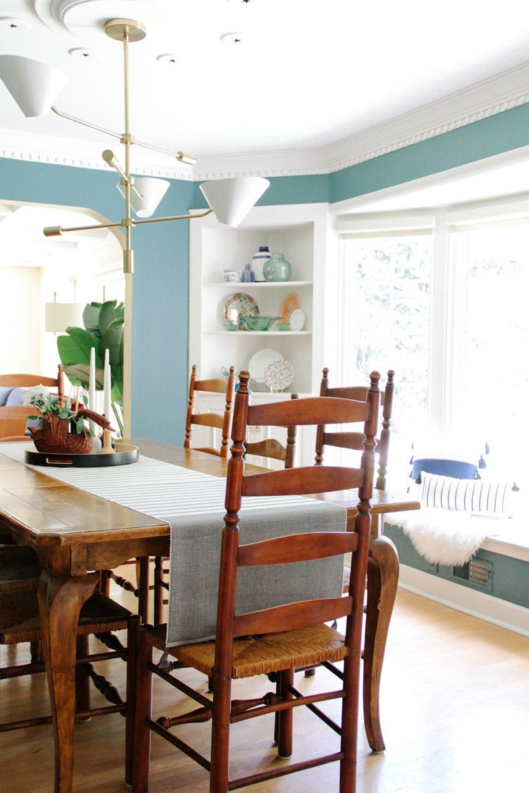 Modern Colonial Dining Room Reveal Modern Colonial