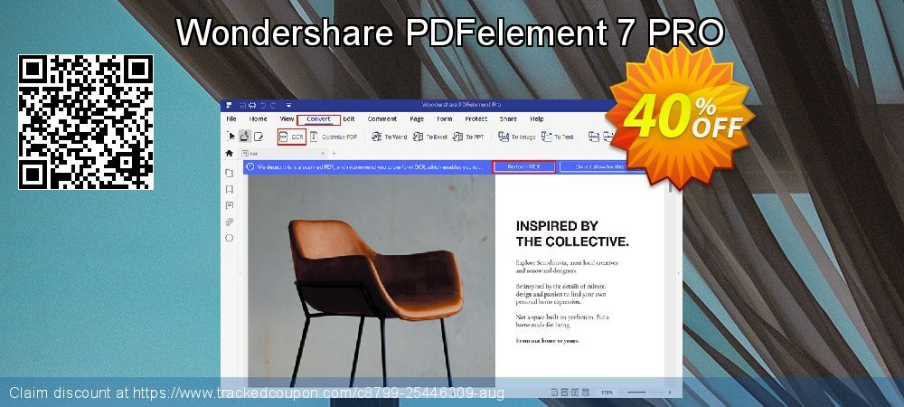 50 Off Wondershare Pdfelement 7 Pro Promo Coupon Code On Int L