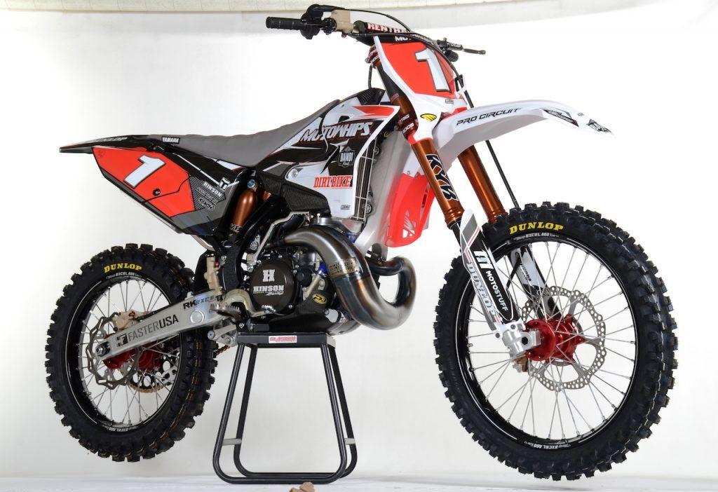 Moto Whips Yamaha Yz250 Prodigy 2 0 Build Two Stroke Tuesday Dirt Bike Magazine In 2020 Dirt Bike Magazine Motocross Bikes Yamaha