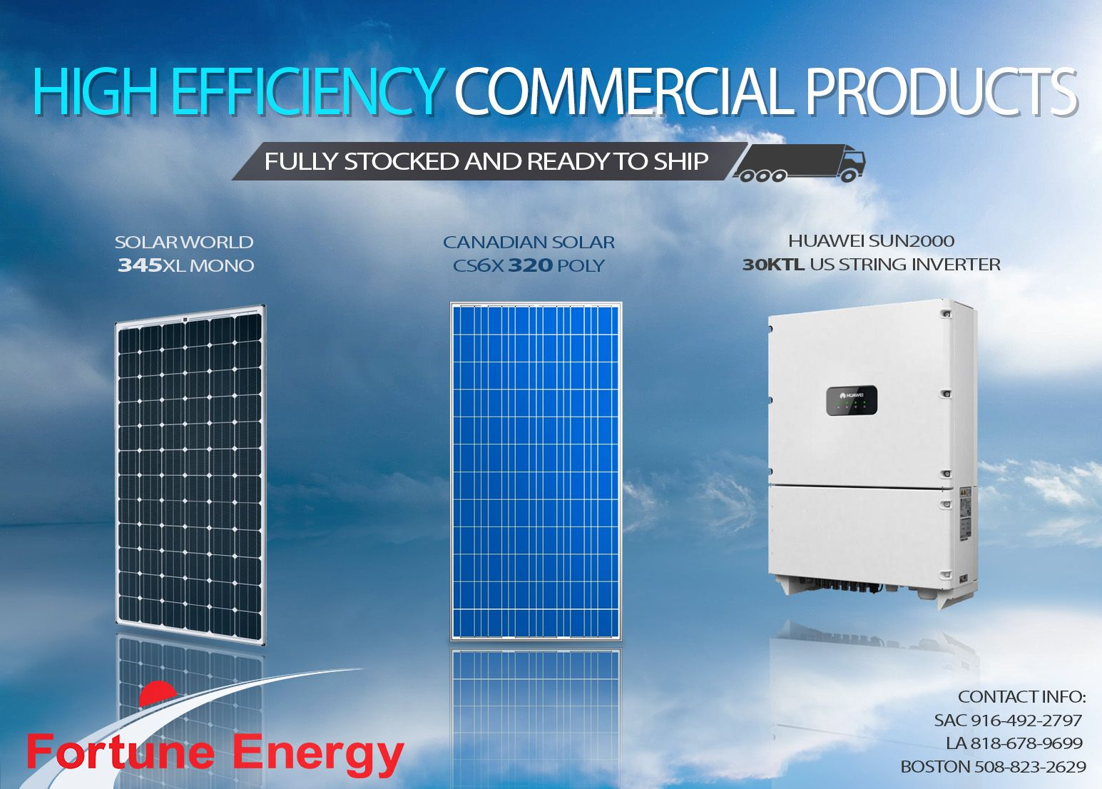 Fortune Energy Competitive Pricing and Full Turnkey