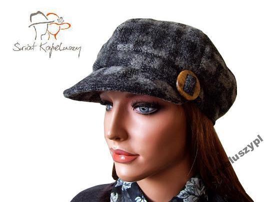 Kaszkiet Damski Czapka Damska Z Daszkiem Ciepla 57 3639846804 Oficjalne Archiwum Allegro Newsboy Fashion Hats