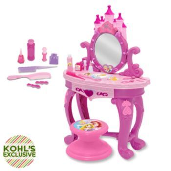 Disney Princess Sparkling Light Amp Sound Vanity Set Gia