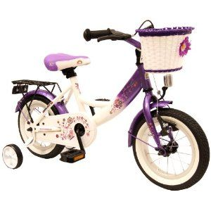 puky kinderfahrrad bike star 12 zoll kinder fahrrad farbe lila wei beste angebot. Black Bedroom Furniture Sets. Home Design Ideas