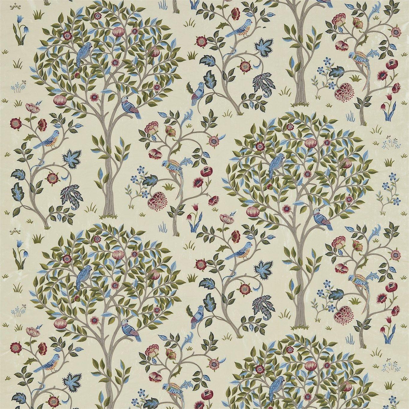 Fabric tree pattern - I Arts And Crafts I Fabrics And Wallpaper Designs By William Morris Company Kelmscott Tree