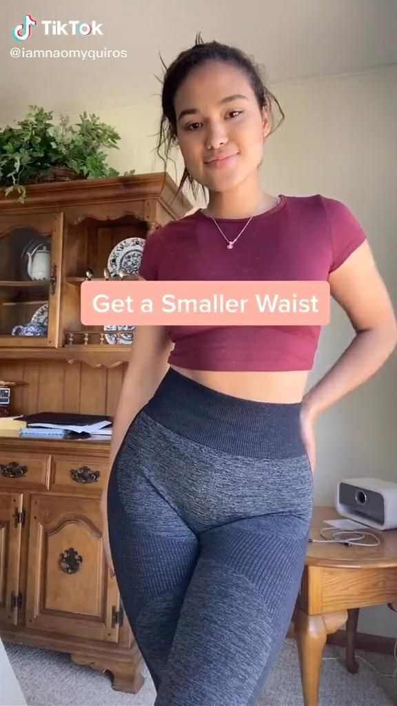 Get A Smaller Waist With This Simple Workout.
