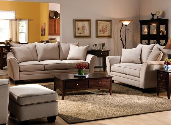 Briarwood Microfiber Sofa With Images Living Room Chairs