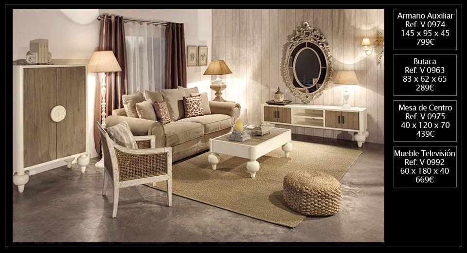 Blanco y madera, un salón de vanguardia. Muebles de venta en Original House. http://www.originalhouse.info/