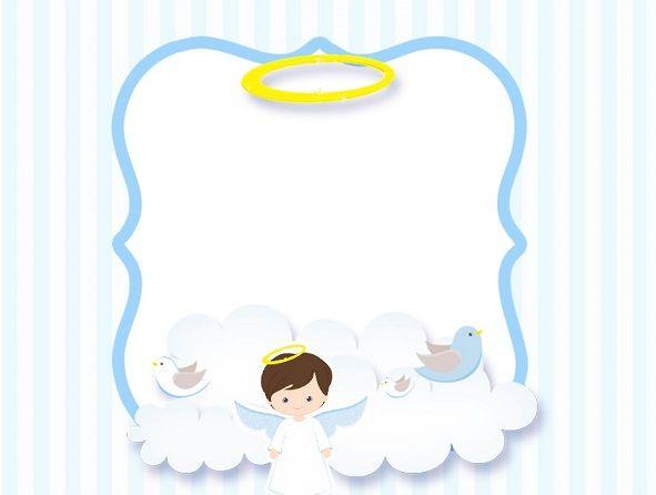 Marcos E Imágenes De ángeles Bebés Invitaciones Bautizo Imagenes De Bautizo Bautismo Niña