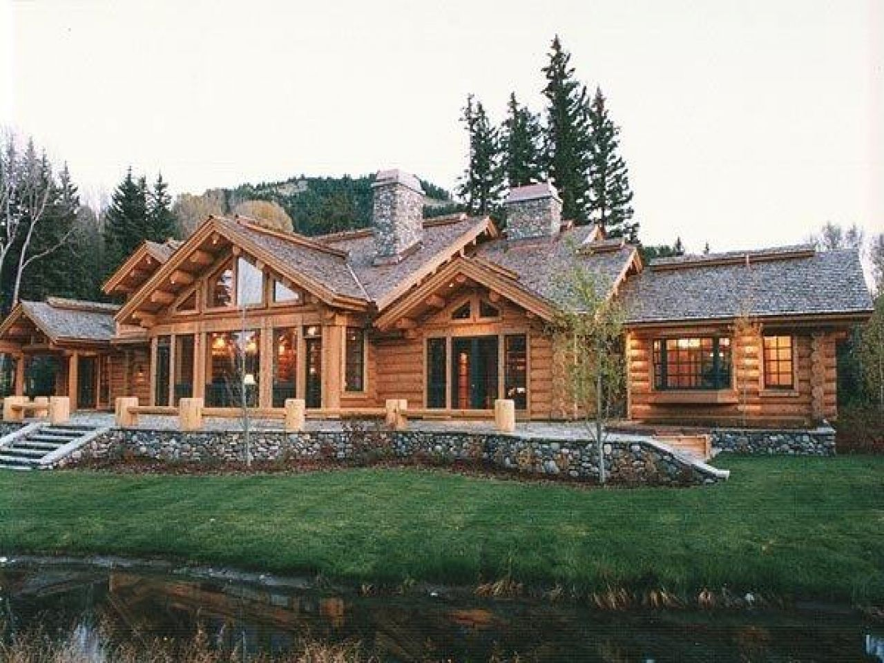 Log Homes Cabin Ranch Style Mexzhouse Home Plans Ranchers Log Homes Cabins And Cottages Barbie Dream House