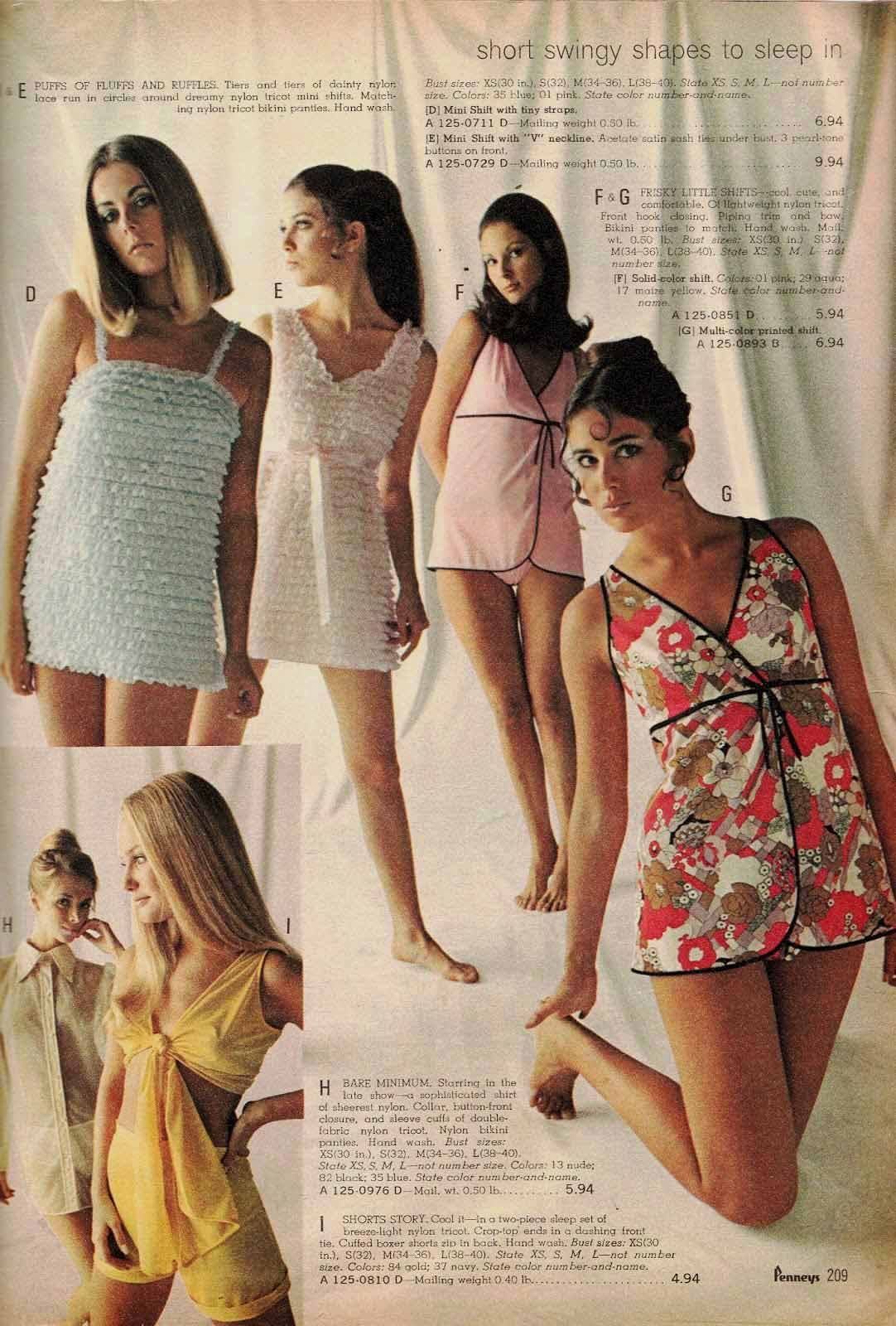 dfd9d21a5980f 1970 JC Penney Spring Summer pg 209 - Joanne Vitelli Joyce Ingalls Colleen  Corby