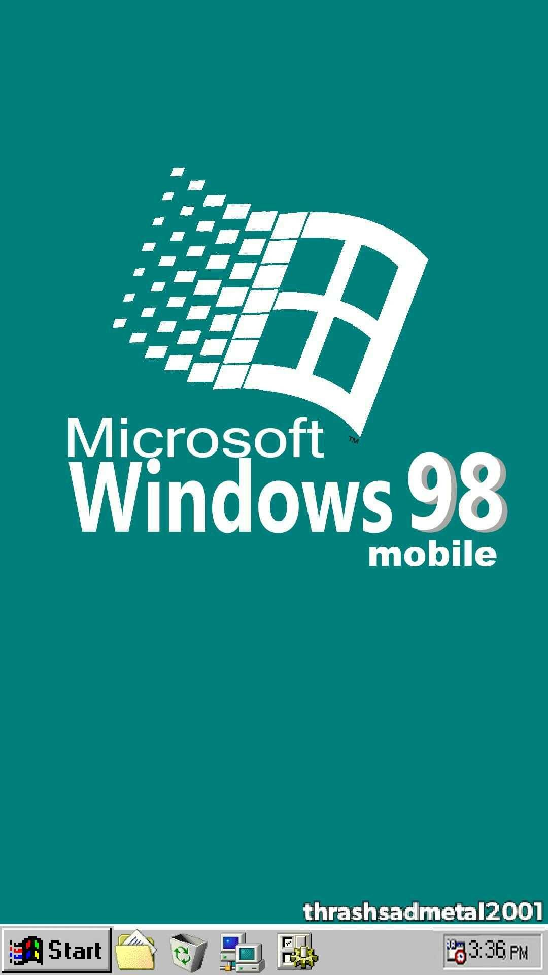 Thrashsadmetal2001 Windows 98 Mobile