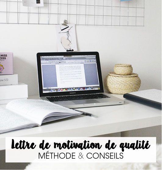 Lettre De Motivation Pour Projet Professionnel: LETTRE DE MOTIVATION DE QUALITÉ : MÉTHODE & CONSEILS