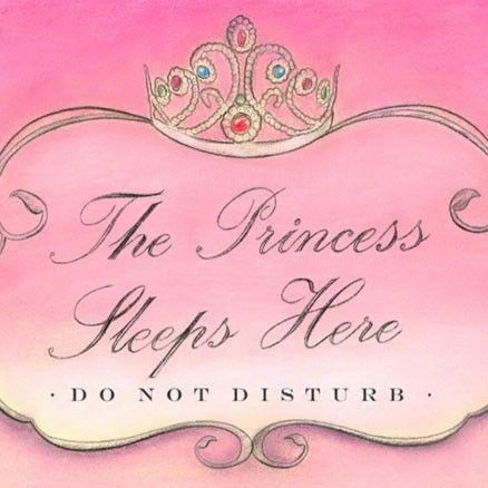 Bedroom door signs by Steve O\u0027Connell A Room Fit for a Princess