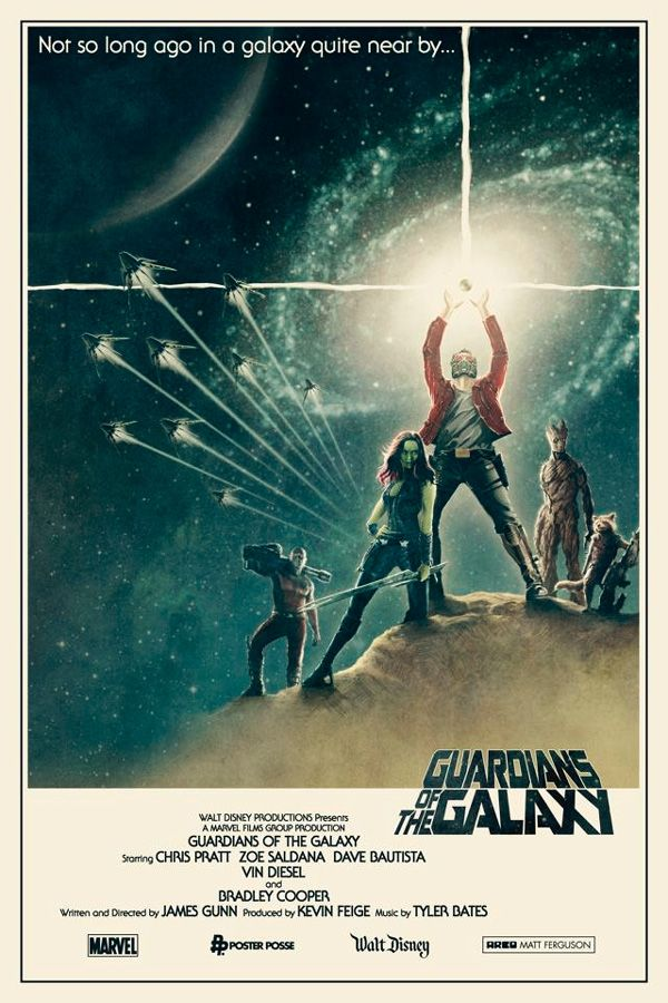 Guardians Of The Galaxy Meets Star Wars In Cool New Fan Made Posters Galaxy Movie Marvel Movies Marvel