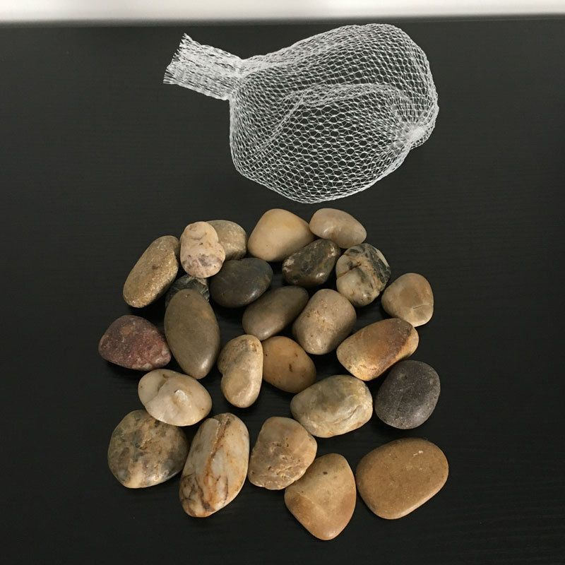 Large Assorted Browns Natural Stones Pebbles Table Decoration