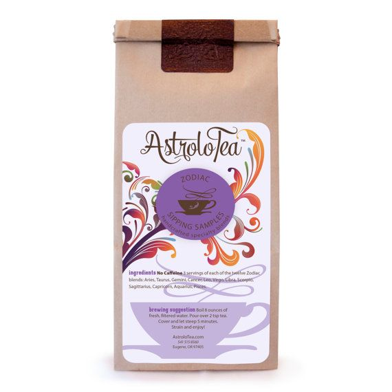 Organic Zodiac Sipping Samples by AstroloTea - so you can try them all!