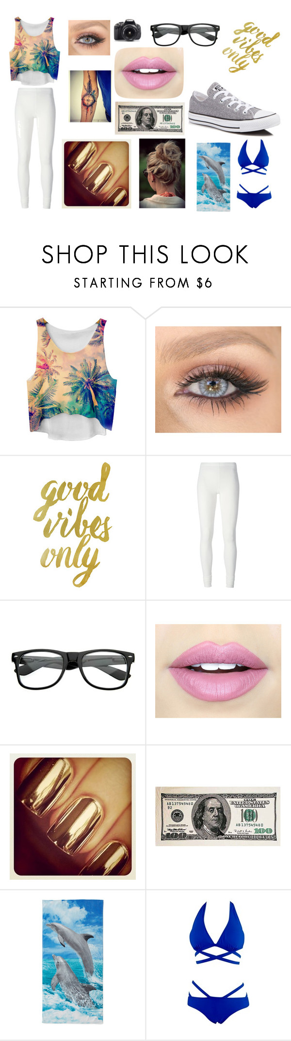 """""""Hanging with BAE"""" by isabellamontileone ❤ liked on Polyvore featuring Chicnova Fashion, Eos, Rick Owens Lilies, Fiebiger and Converse"""