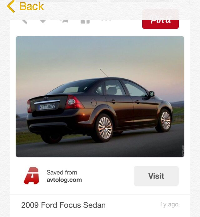 Pin By Hannah Hugo On Cars Pinterest Ford Focus Ford And Cars