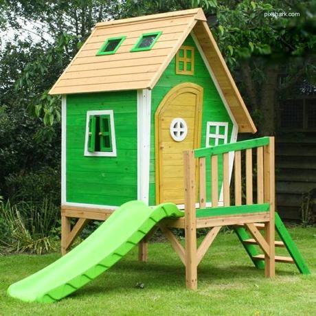16 modelos de casitas de madera para el jardín en 2019 ...