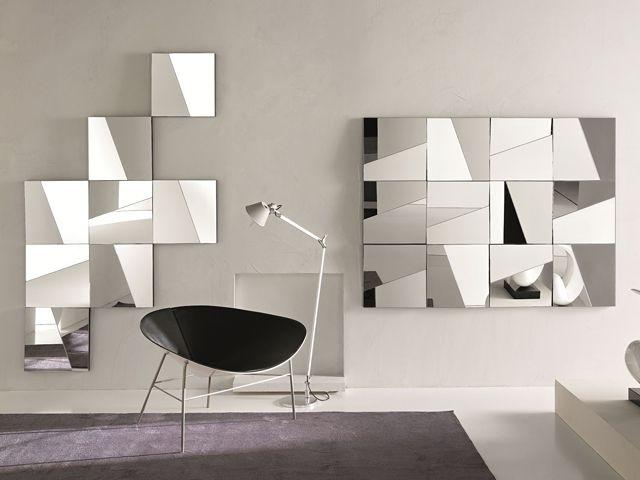 decoração com espelhos para aumentar sua sala - Pesquisa Google