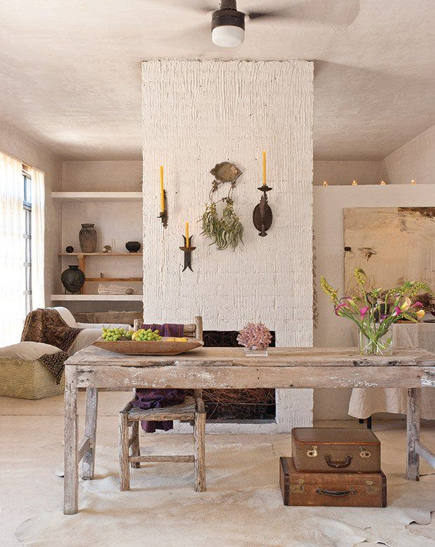 Get Exotic South American Inspired Decorating Ideas From Artist Patricia Ln S Serene Home Near The Tip Of Baja Mexico