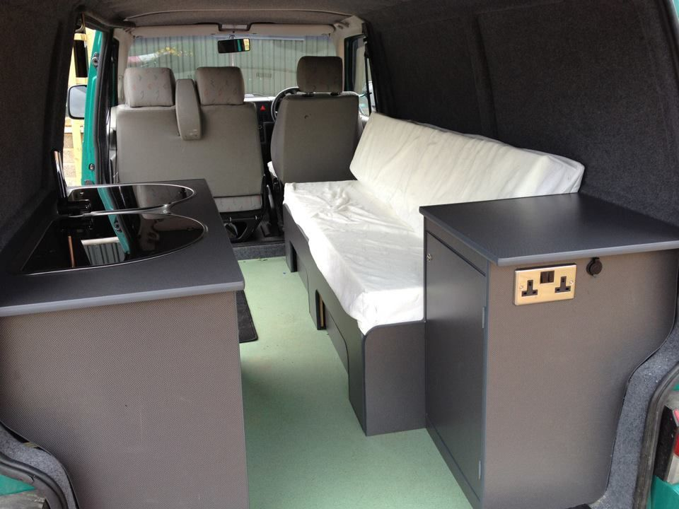 A similar layout to mine   Camper Van Conversion ideas VW T4   Vw t5