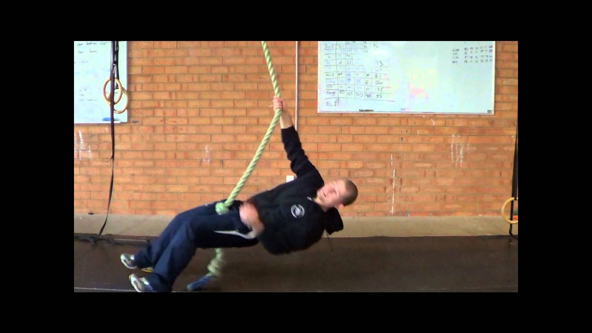 Grip and core strength for Judo - Rope rotations Judo Bodyweight workout Judo video