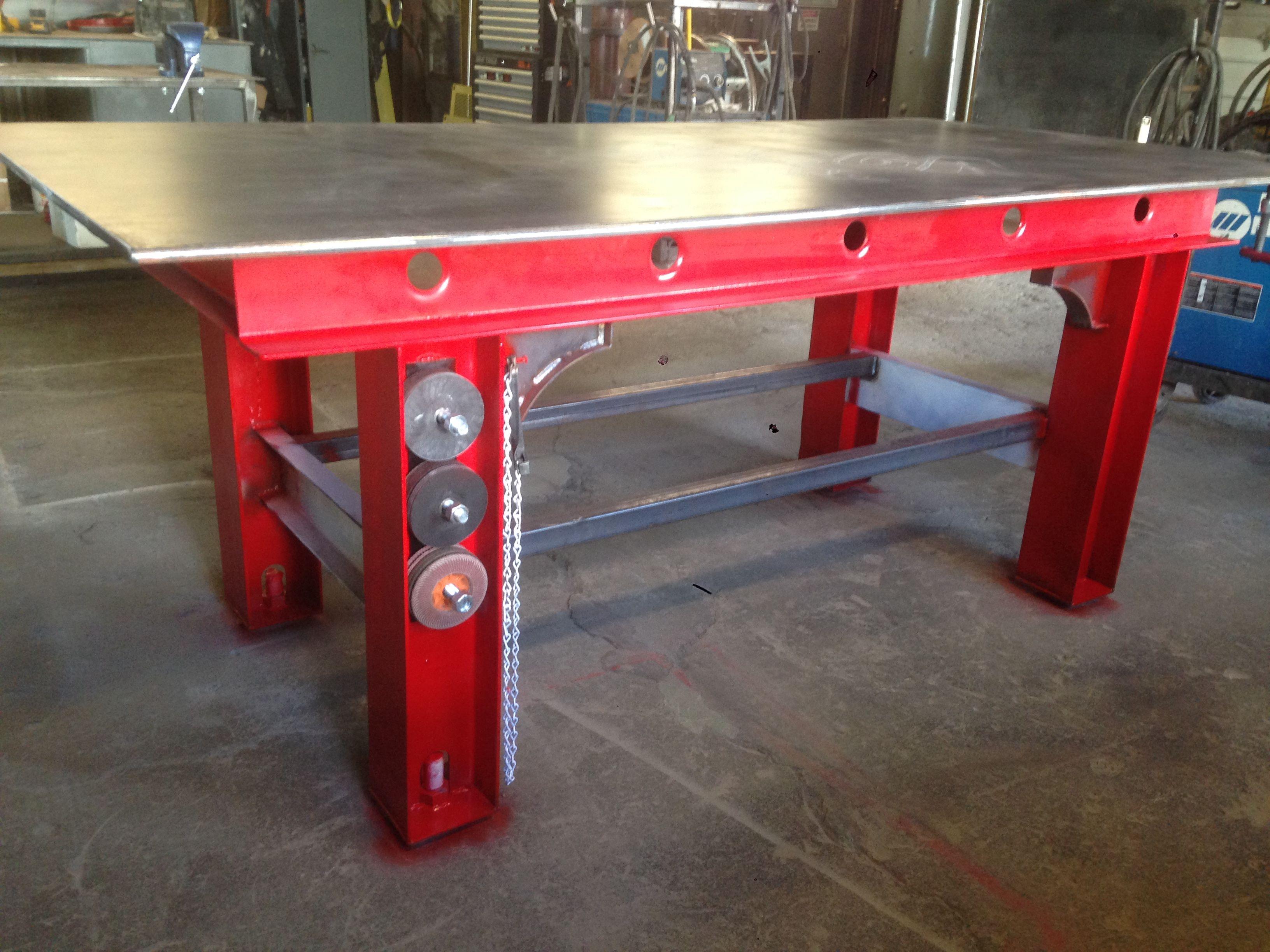 welding work table welding table