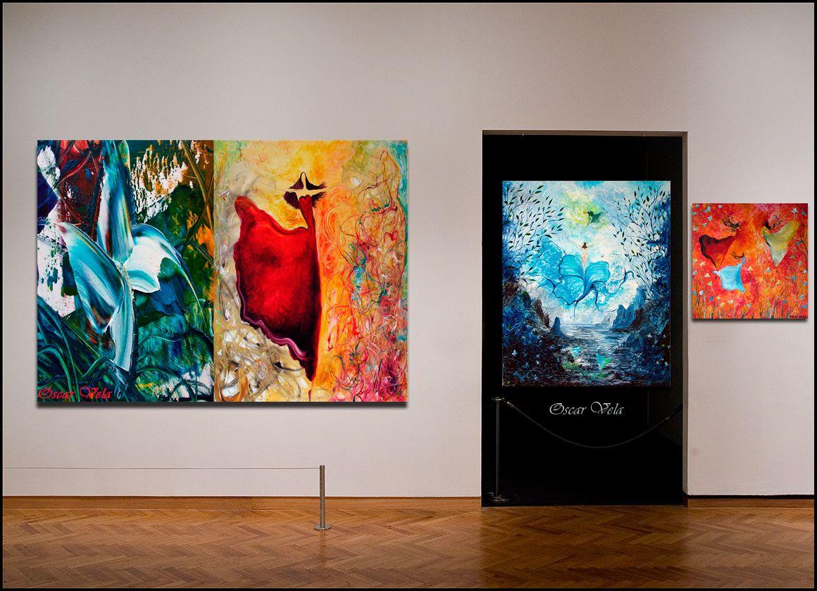 Paintings by artist  www.oscarvela.dk