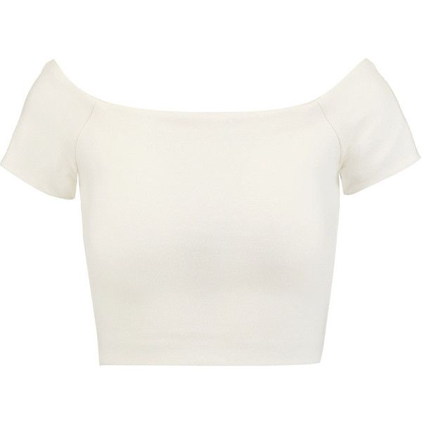 Shoulder · Alice + Olivia Gracelyn cropped ...