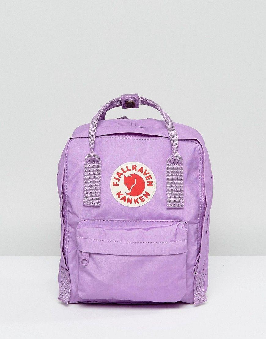 Fjallraven Mini Orchid Kanken Backpack - Purple d11beb3237d3e