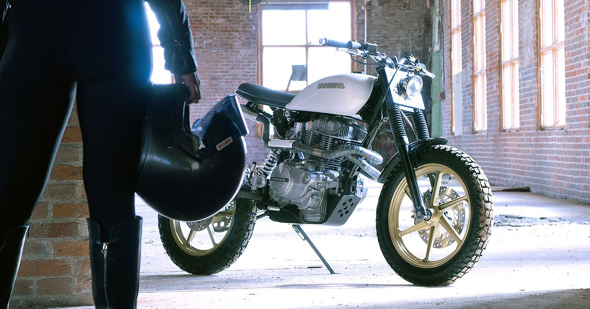 Turning the Honda CM400 Into An Urban Assault Machine in
