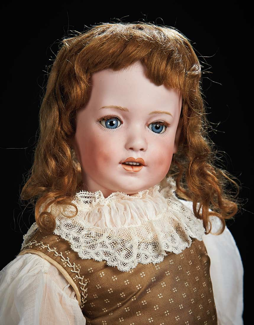 "Beautiful and Rare German Bisque Character ""Dolly Dimple"" by Gebruder Heubach  25"" (64 cm.)"