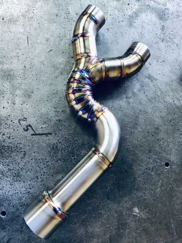 tig welding motorcycle exhaust