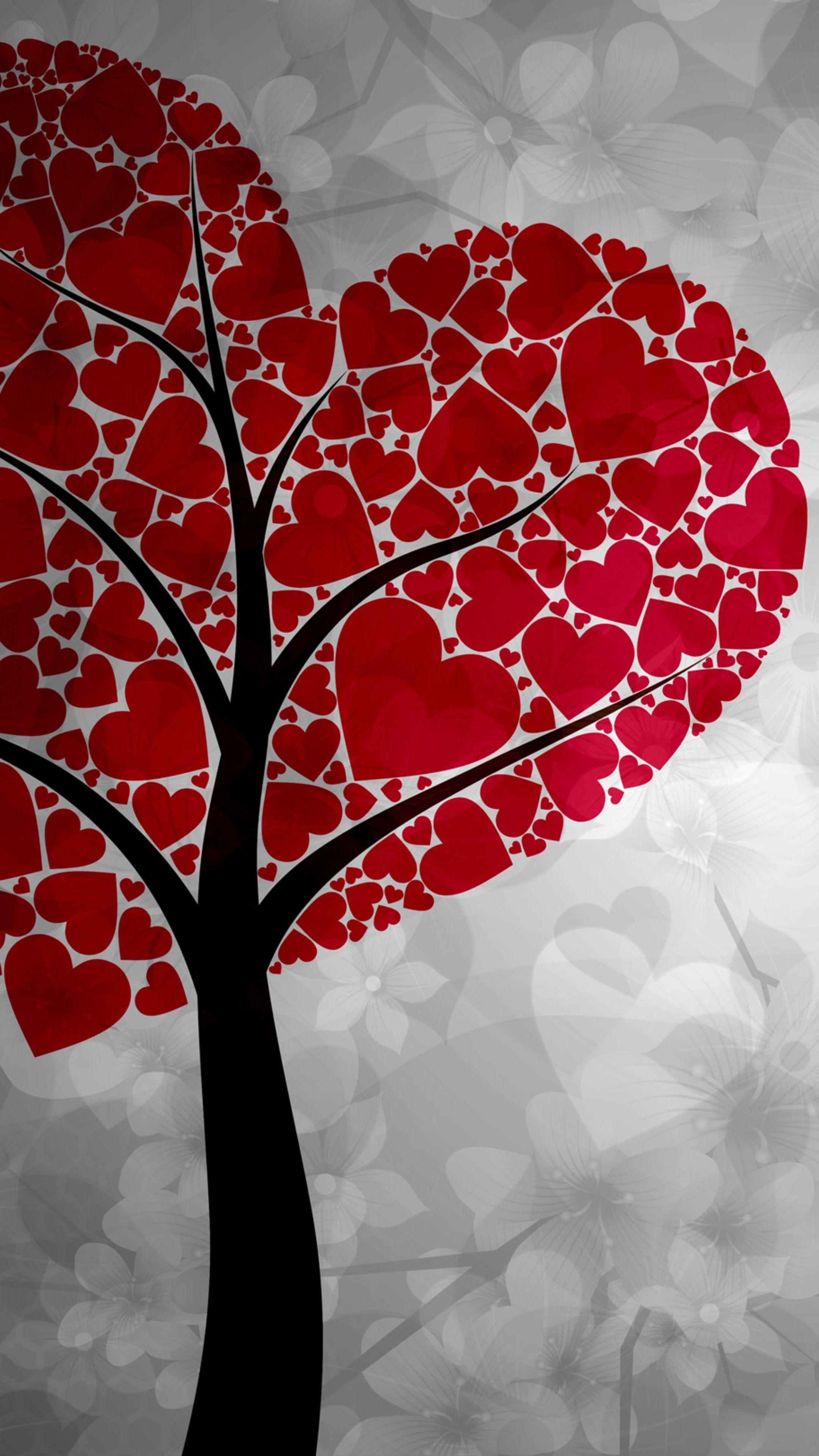 Emotions Artistic Heart Tree wallpapers hd 4k