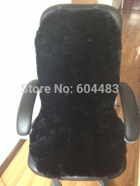 I Want That Sheepskin Chair Cover For My Office Chair My Chair Is Lovely To Look At And Sit In But Leather I Office Chair Cushion Sheepskin Chair Office Chair