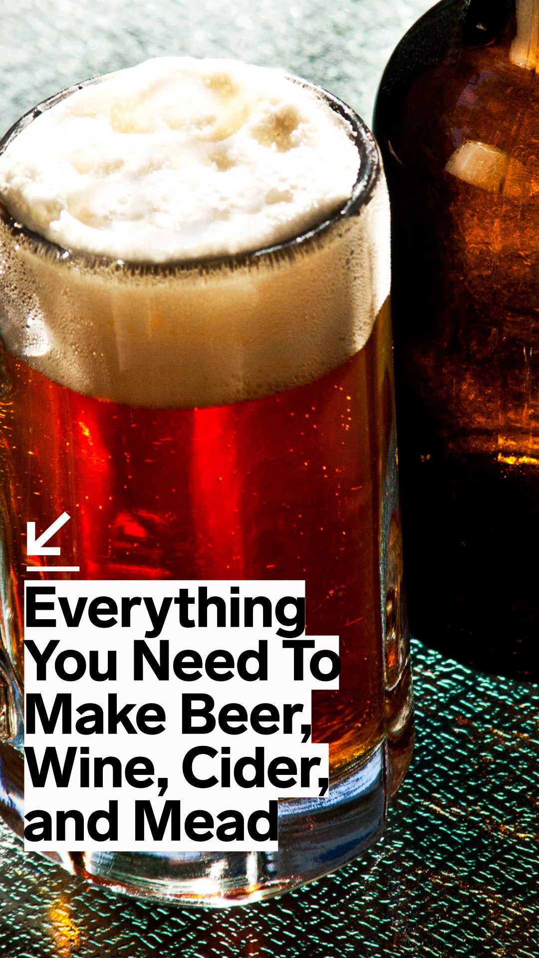 Everything You Need To Make Beer Wine Cider And Mead In 2020 Beer Cider Boozy Drinks