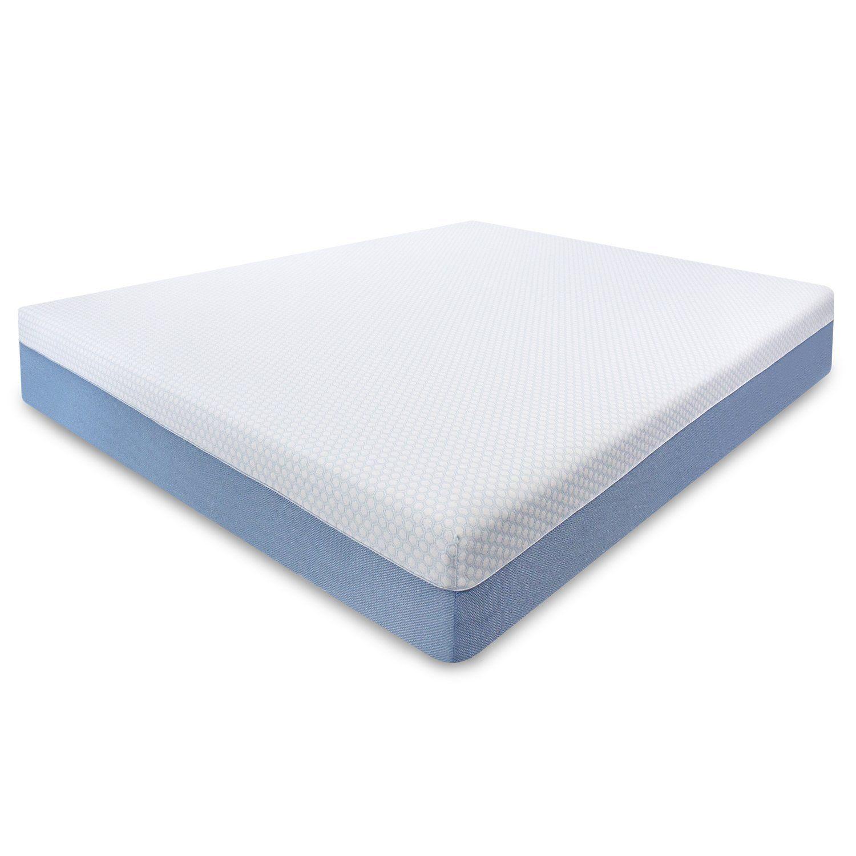 10 Queen Size Gel Memory Foam Mattress 100 Certi Pur Foam