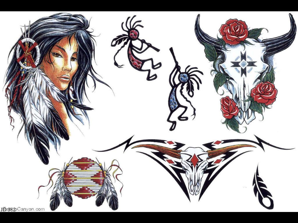 Indian Tattoos Native American Tattoos Native American Tattoo Designs Native American Warrior Tattoos