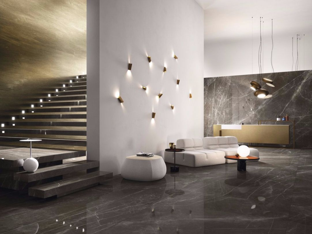Image result for pietra grey marble wall concepts receptions porcelain stoneware wallfloor tiles with marble effect pietra grey marmi maximum collection by granitifiandre dailygadgetfo Choice Image